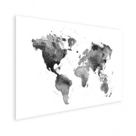 Aquarel zwart - wit poster