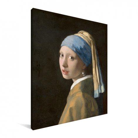Meisje met de Parel - Schilderij van Johannes Vermeer Canvas