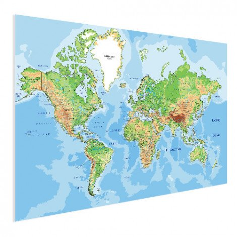 Geografisch poster
