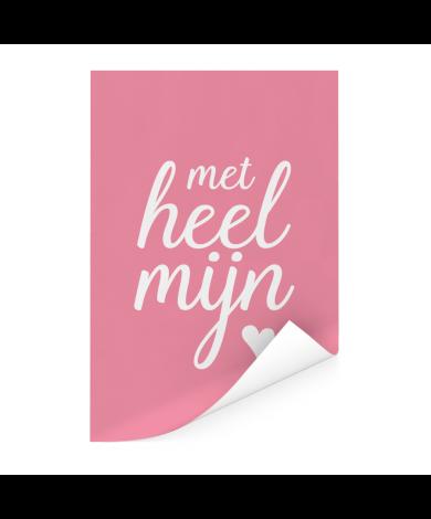 Moederdag - Met heel mijn hart Poster