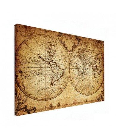 Doorsnede papier canvas