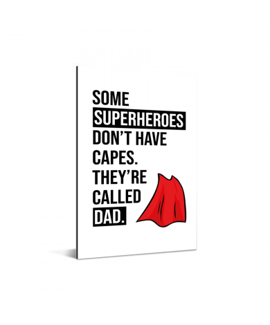 Vaderdag - Superheroes Aluminium