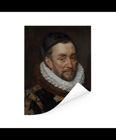 Willem van Oranje - Schilderij van Adriaen Thomasz Poster