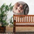 tuinposter op muur