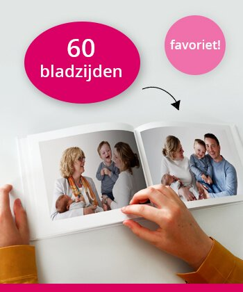 Fotoboek 60 bladzijden