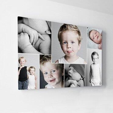 foto op canvas winnen fotocollage