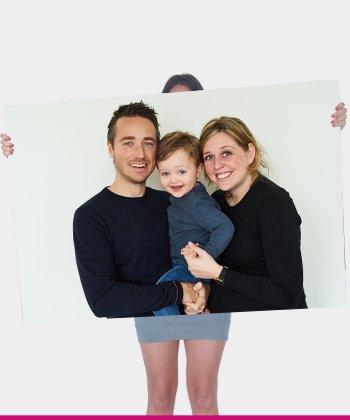 Foto op poster 160x120 cm