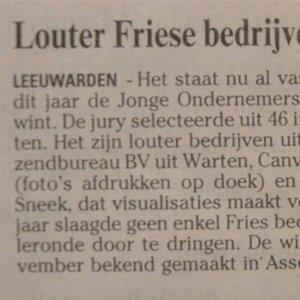 Louter Friese bedrijven in finale