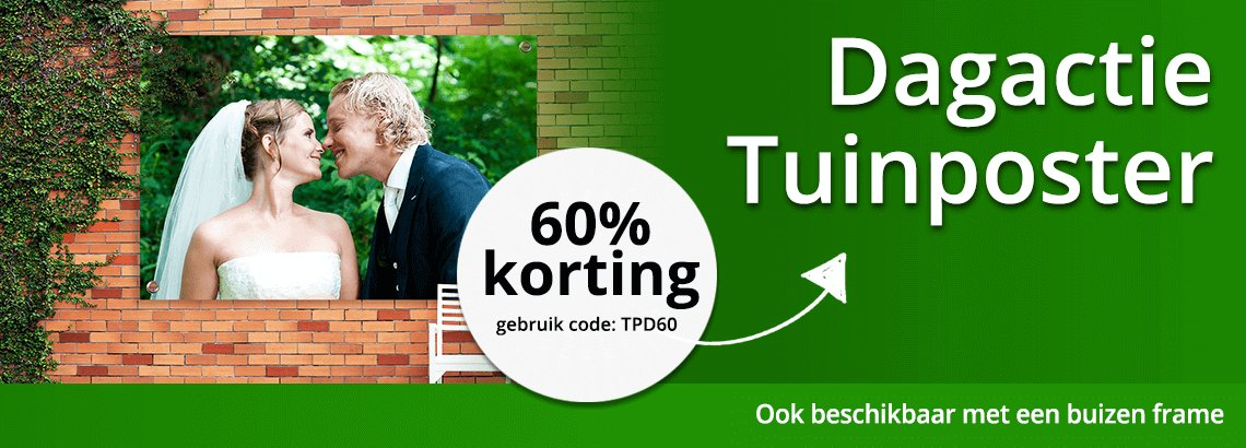 Tips tuinposter