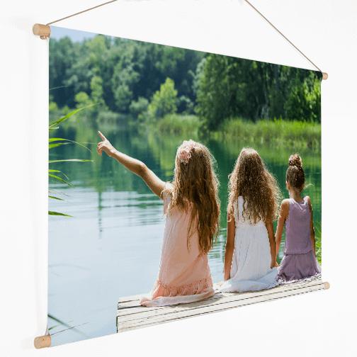 Foto op textielposter zomer