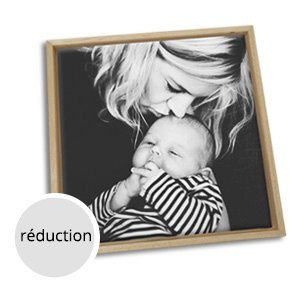 Foto op canvas moeder kind