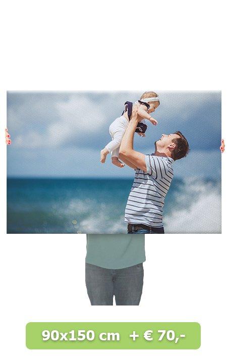 Foto op canvas 60x60